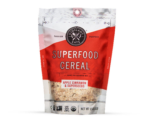 Apple Cinnamon & Superseeds Superfood Cereal (11oz Bag)