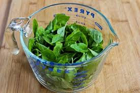 2 cups Fresh Basil Leaves, Non-GMO, Organically Grown