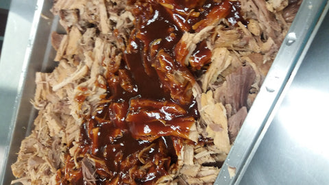Slow roasted pulled pork bbq -1 lb