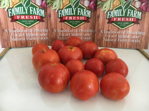 USDA Certified Organic Imperfect Tomatoes (approx 5 pounds)