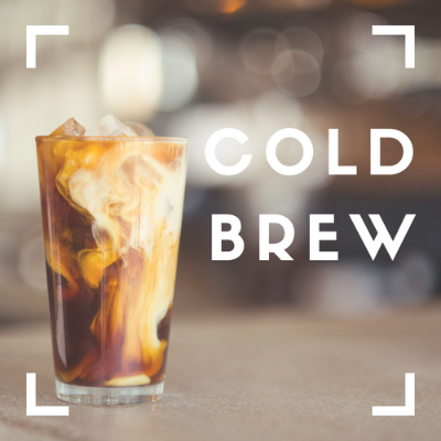 Cold Brew Coffee (1/2 gallon)
