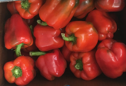 USDA Certified Organic Red Peppers 4 pack