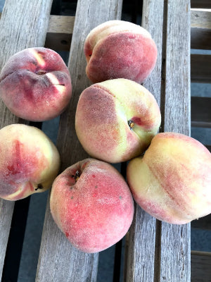 Freestone White Peaches 2lb. bag