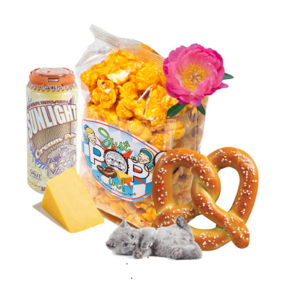 3.8oz Sun King Bavarian Cheese & Pretzel Ale Popcorn - Just Pop In!
