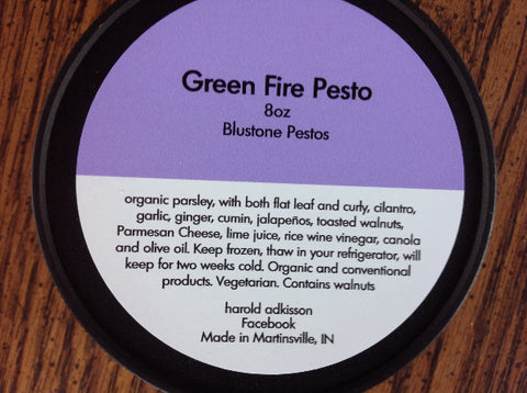 Green Fire Pesto