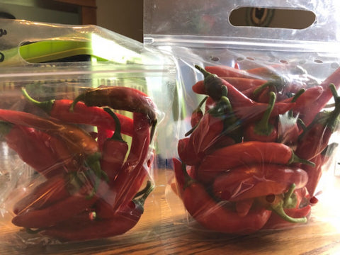 Red Cayenne - 1.1lb (20-24 peppers)