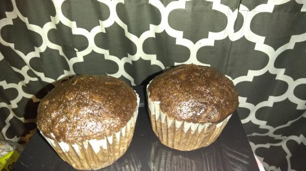 2 pack- Chocolate Zucchini muffins