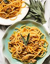 Pasta with Italian Sausage and Pumpkin Cream Sauce 15 ounces