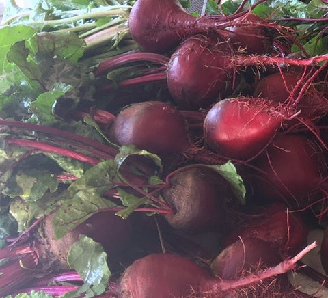 Beets- Certified Organic - Tops removed