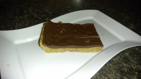 Chocolate Peanut butter bars!!