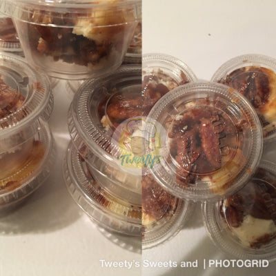 Pecan Pie Cheesecake Sample