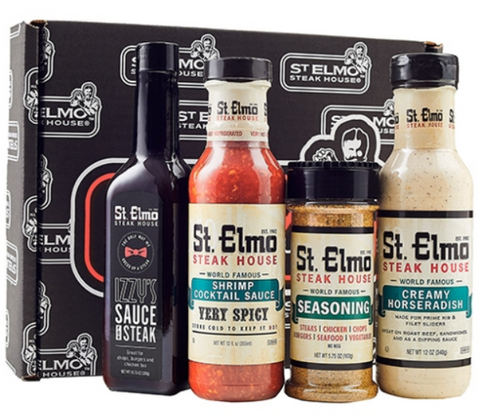 Gift Box Set- St. Elmo Famous Sauces 4pc.