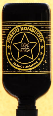 Orange Jasmine Kombucha - organic, 32oz