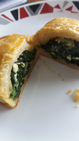 Spinach Pie - contains 2