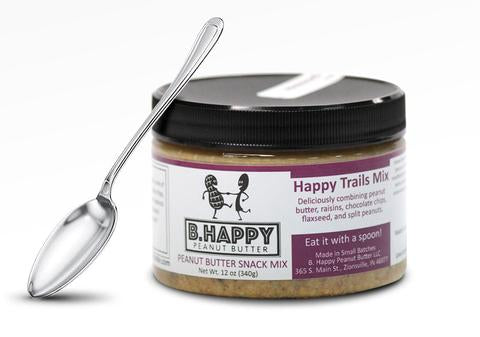 12oz Happy Trails Mix - B. Happy Peanut Butter
