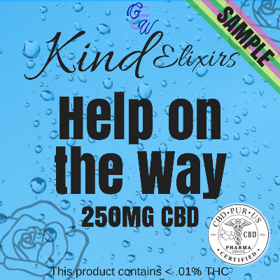 Kind Elixir (Sample x 2) - Help on the Way - 250mg CBD