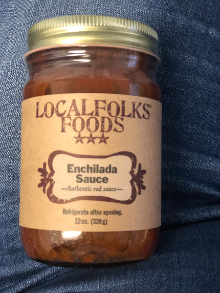 12oz Red Enchilada Sauce - LocalFolks Foods