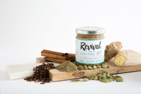 8oz Chai Time Almond Butter - Revival Food Co.