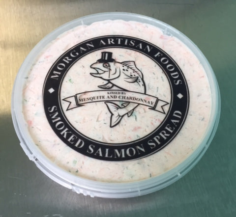 Smoked Salmon Cream Cheese Spread 1 oz sample