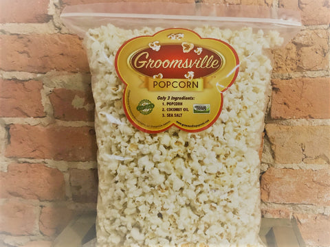 Sea Salt & Coconut Oil Popcorn (5oz Bag)