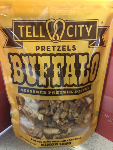 12oz Buffalo Seasoned Pretzel Pieces - Tell City Pretzels