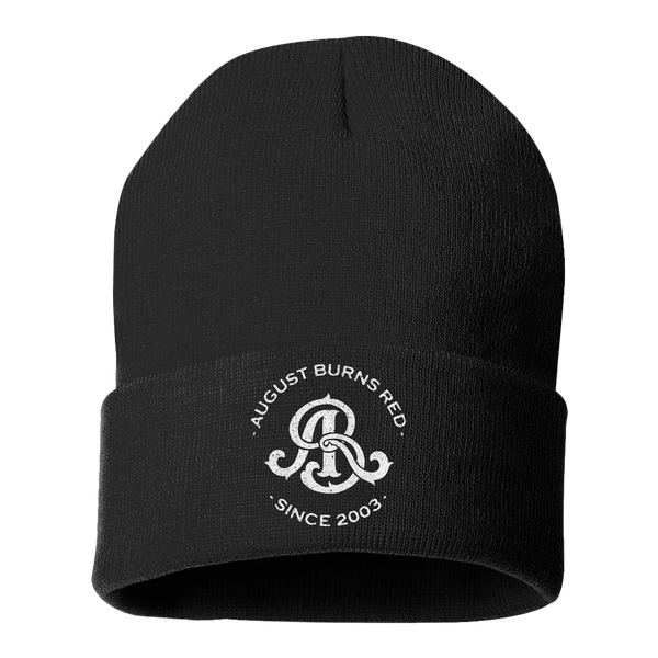 Official August Burns Red Monogram Embroidered Beanie