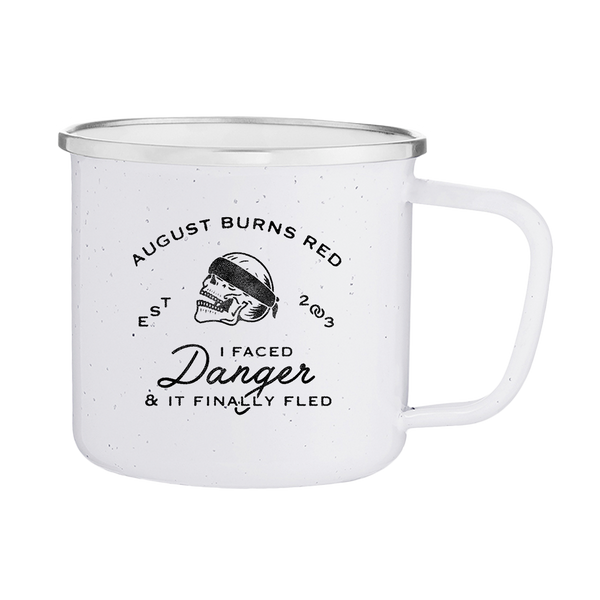 Official August Burns Red Skull Enamel Mug