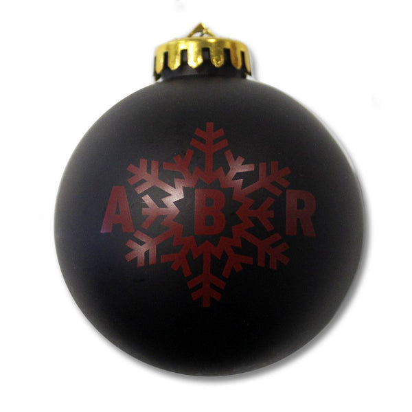 2015 Snowflake Ornament - Black or Red - August Burns Red - 3