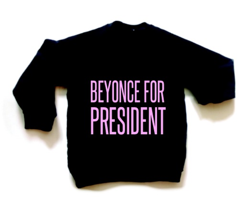 Beyonce For President Child Sweatshirt (BLACK)