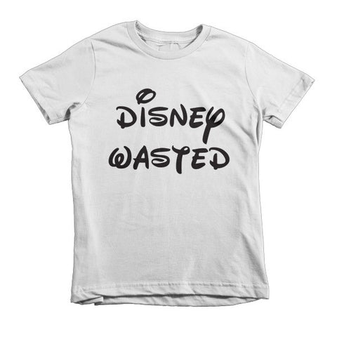 Disney Wasted S/S Child (White, Blue, Pink, Red)