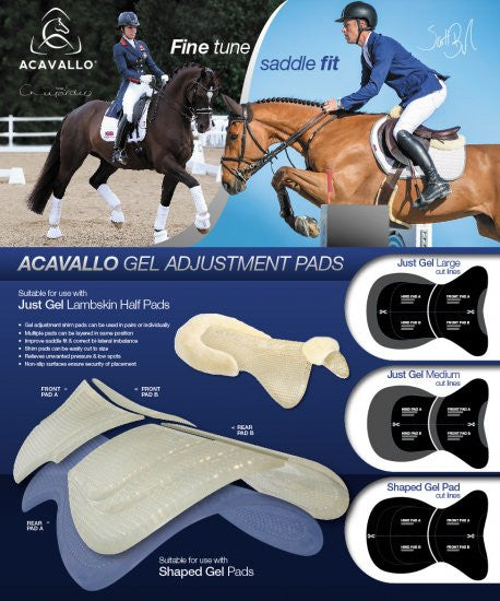 Acavallo Adjustment Pad Front  - Eqclusive  - 4