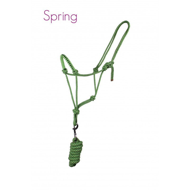 QHP Rope Head Collar Set Pony / Spring - Eqclusive  - 2