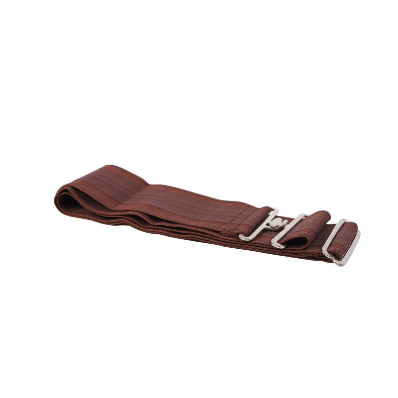 QHP Elasticized Rug Strap Brown - Eqclusive  - 5