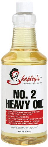 Shapley's No. 2 Heavy Oil 946ml - Eqclusive