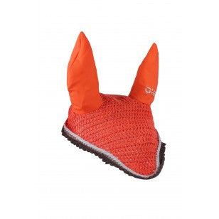 QHP Ear hat color Pony / Hot Coral - Eqclusive  - 12