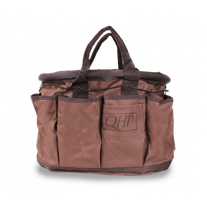 QHP Grooming Bag Brown - Eqclusive  - 1