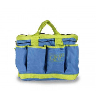 QHP Grooming Bag Dark Blue/Lime - Eqclusive  - 3