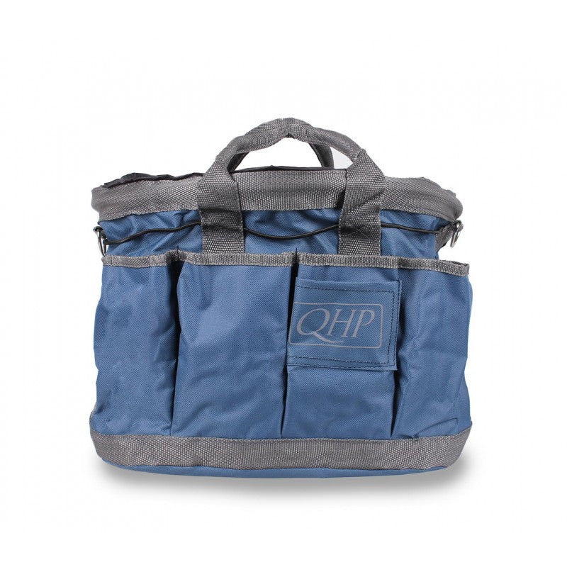 QHP Grooming Bag Navy/Grey - Eqclusive  - 10