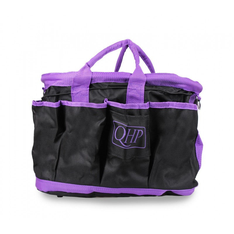 QHP Grooming Bag Black/Purple - Eqclusive  - 7