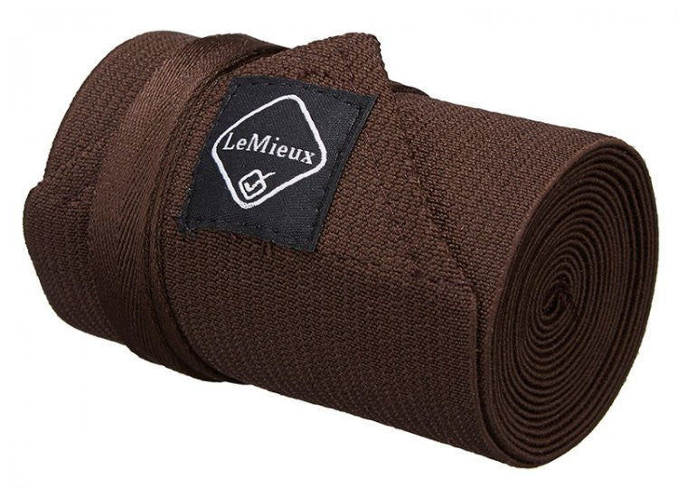 LeMieux Tail Bandage Brown - Eqclusive  - 1