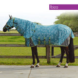 QHP Anti-Fly Rug with Neck and Hood 125 / Ibiza - Eqclusive  - 6