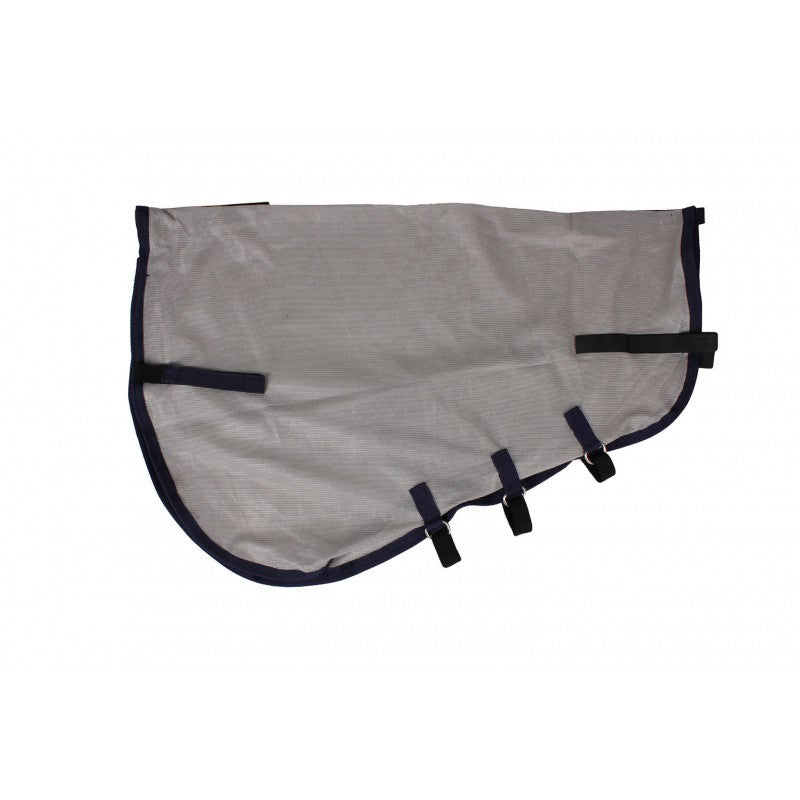 QHP Loose neck part fly sheet XXS / Grey - Eqclusive