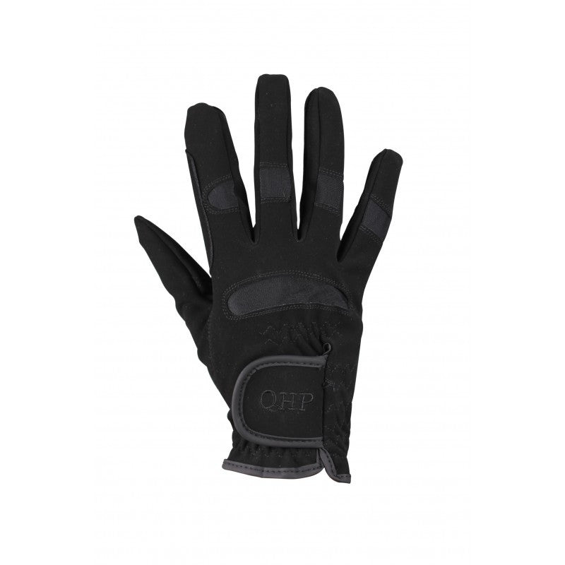 QHP Glove Multi Junior 1 / Black - Eqclusive  - 1