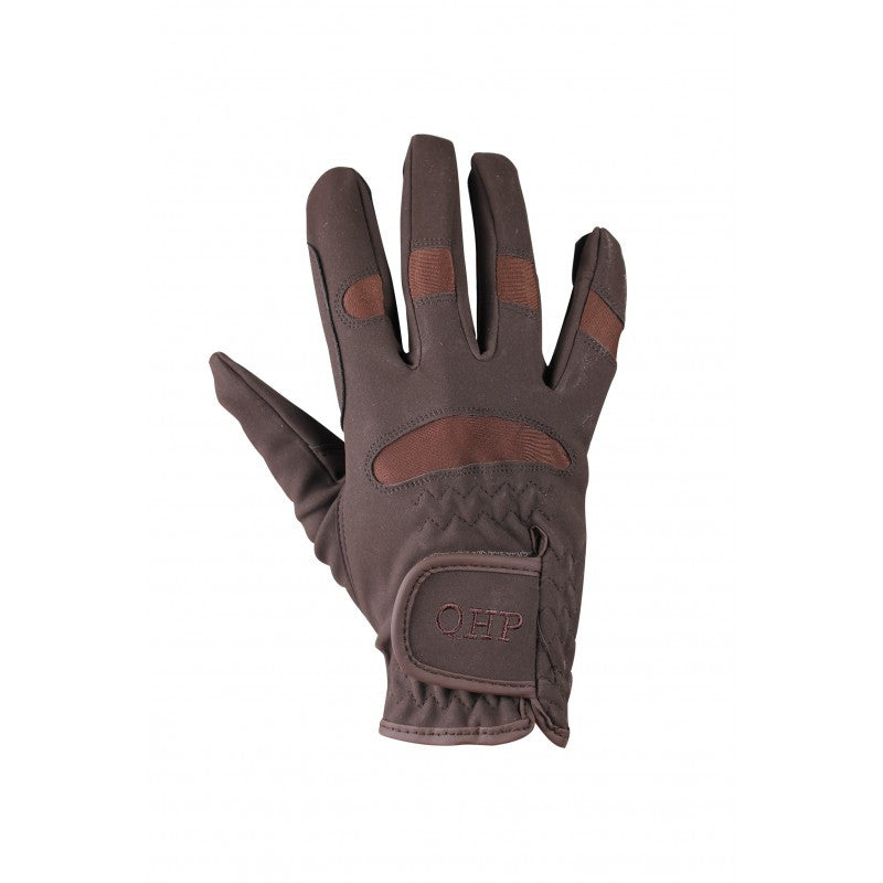 QHP Glove Multi Junior 1 / Brown - Eqclusive  - 2