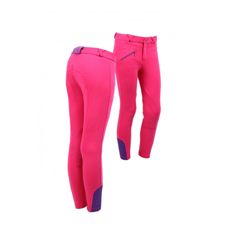 QHP Ridingbreech Junior 116 / Fuchsia-Purple - Eqclusive  - 5