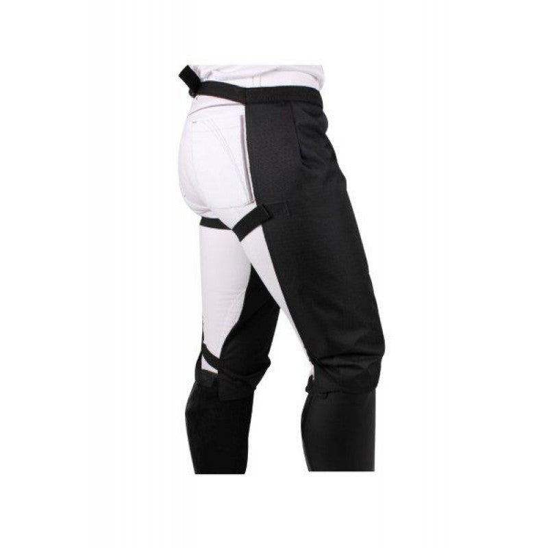 QHP Waterproof Leg Protection Black - Eqclusive  - 1
