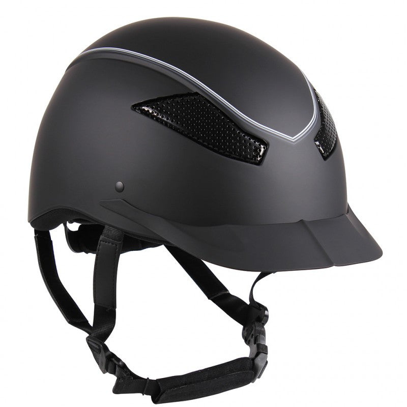 QHP Safety Helmet Dynamic 50-53 / Black - Eqclusive  - 4