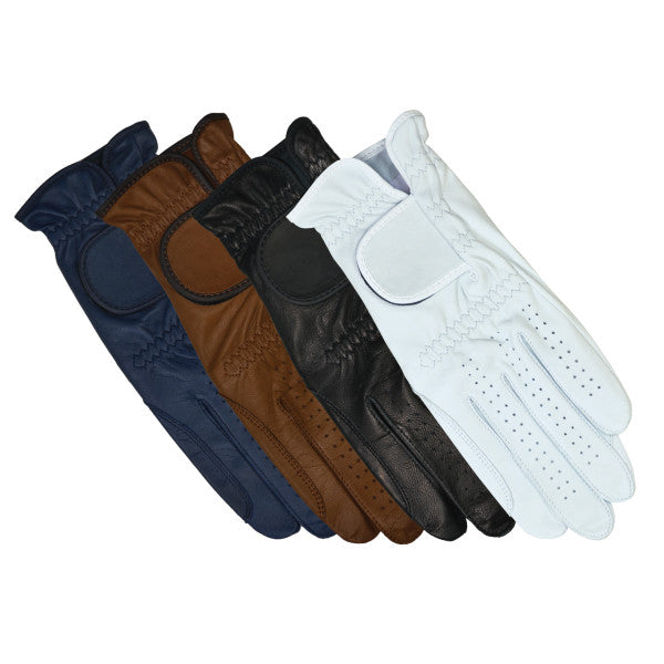 HAUKESCHMIDT Galaxy Riding Gloves 6 / White - Eqclusive