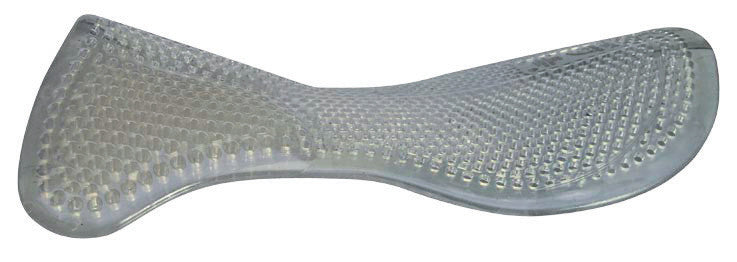 Acavallo Gel Pad & Front Riser Black One Size-Clear - Eqclusive  - 2