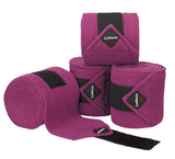 LeMieux Luxury Polo Bandages Full (Set of 4) / Plum - Eqclusive  - 2